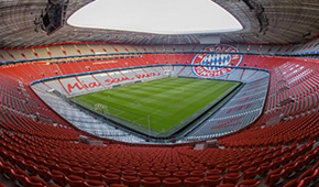 Allianz Arena vu des tribunes