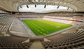 Allianz Riviera vu des tribunes