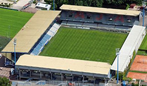 Stade Abbé Deschamps vu du ciel